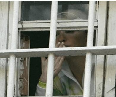 Находясь в заключении, Юлия Владимировна взяла курс на культивирование сострадания к своей персоне