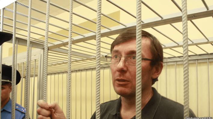 Политический узник Юрий Луценко, проведя в заключении 833 дня, реанимировал политическую карьеру
