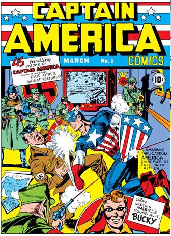 Рисунок 1. Первое появление Супермена в комиксах[2]