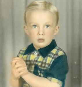 Дональд Трамп в детстве